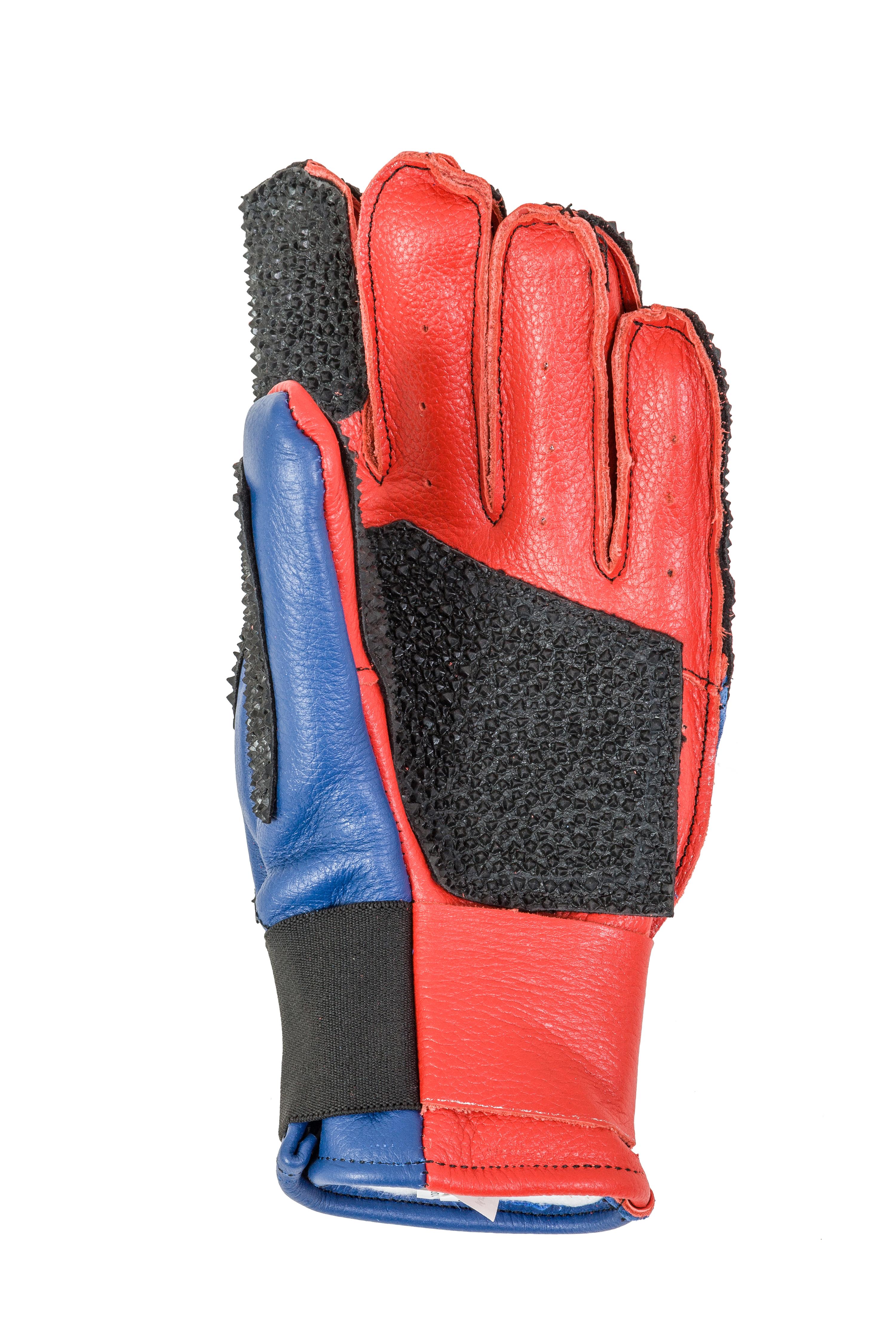 Centaur Standard F full finger padded target shooting glove - palm view - high resolution