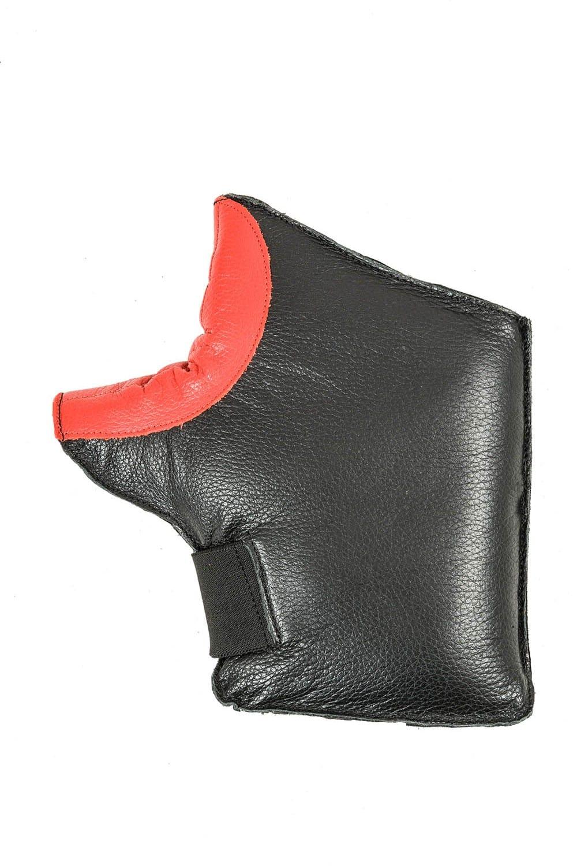 Centaur ambidextrous padded target shooting mitt - palm view - high resolution