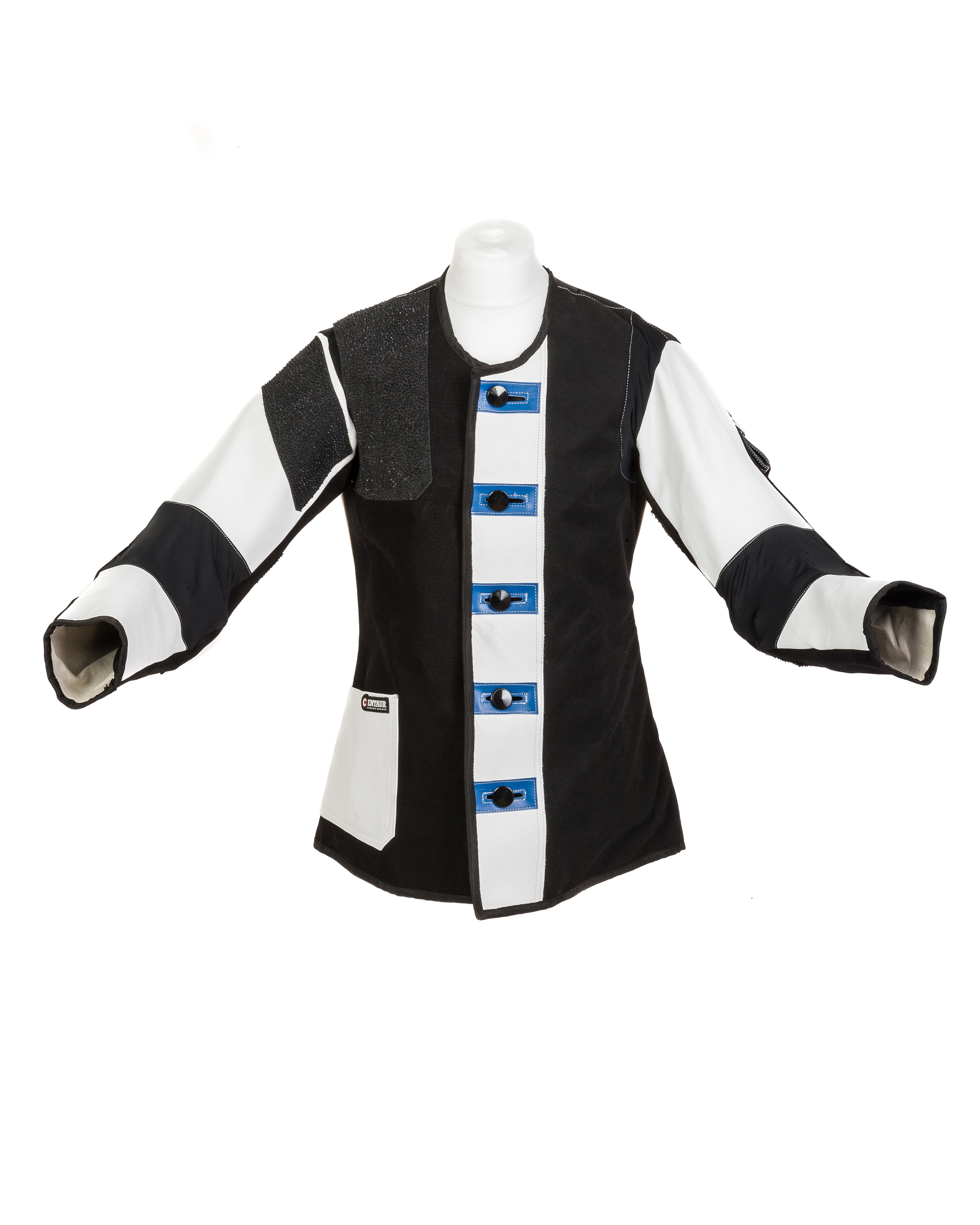Centaur Standard Double Canvas Target Shooting Jacket - Front View