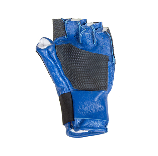 Centaur Expert fingerless ISSF compliant target shooting glove - palm view - low resolution