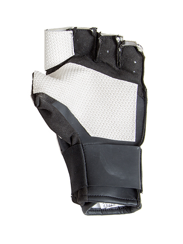 Centaur Pro fingerless ISSF compliant target shooting glove - palm view - low resolution
