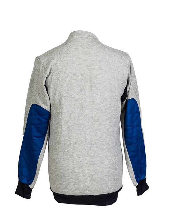 Padded target shooting jumper by Centaur Target Sports - Back view