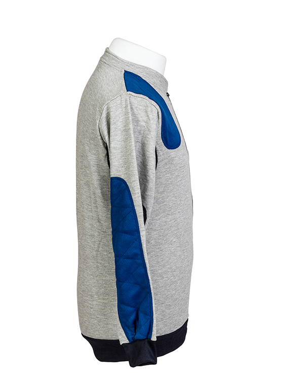 Padded target shooting jumper by Centaur Target Sports - Right side view